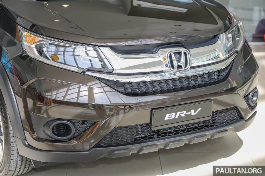 Honda BR-V 1.5L launched in Malaysia, from RM85,800 Image #599405