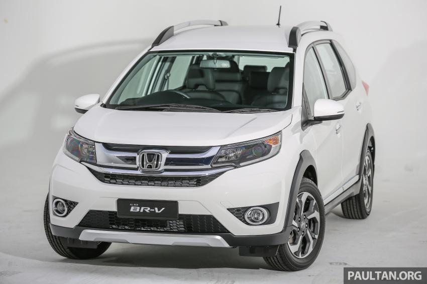 GALERI: Honda BR-V – imej SUV, praktikaliti MPV Image #605887