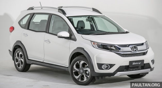 Honda Malaysia achieves 100,000 unit sales mark - BR-V is now No 1