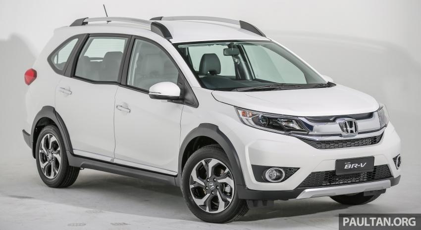 GALLERY: Honda BR-V 1.5L V – 7-seat SUV in detail Image #605962