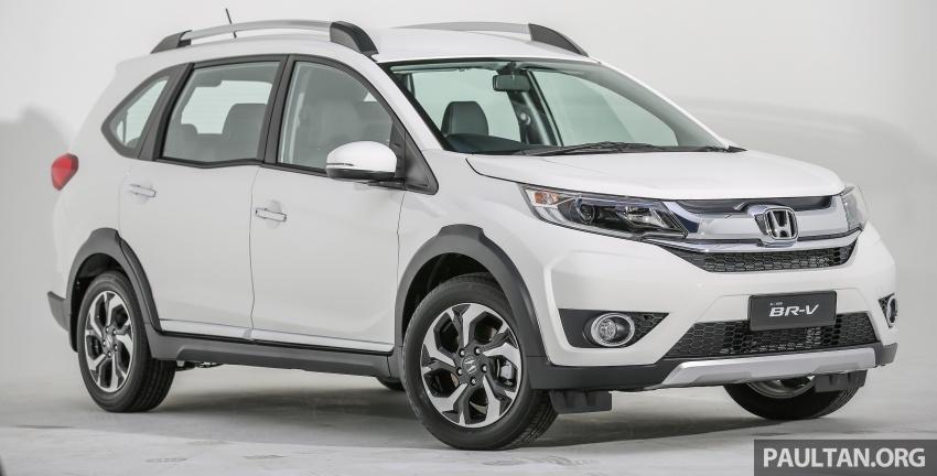 GALLERY: Honda BR-V 1.5L V – 7-seat SUV in detail Image #605963