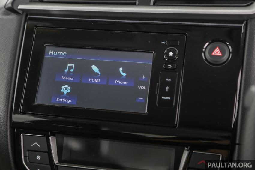 GALLERY: Honda BR-V 1.5L V – 7-seat SUV in detail Image #606007