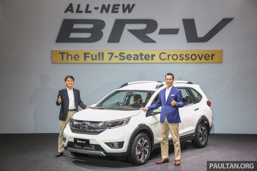 Honda BR-V 1.5L dilancarkan di Malaysia – crossover 7-tempat duduk, 2 varian, harga bermula RM85,800 Image #598569