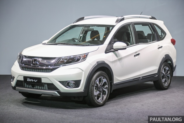 Honda Br V 1 5l Launched In Malaysia From Rm85 800