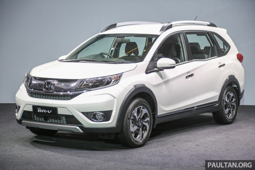 Honda BR-V 1.5L launched in Malaysia, from RM85,800 Image #598554