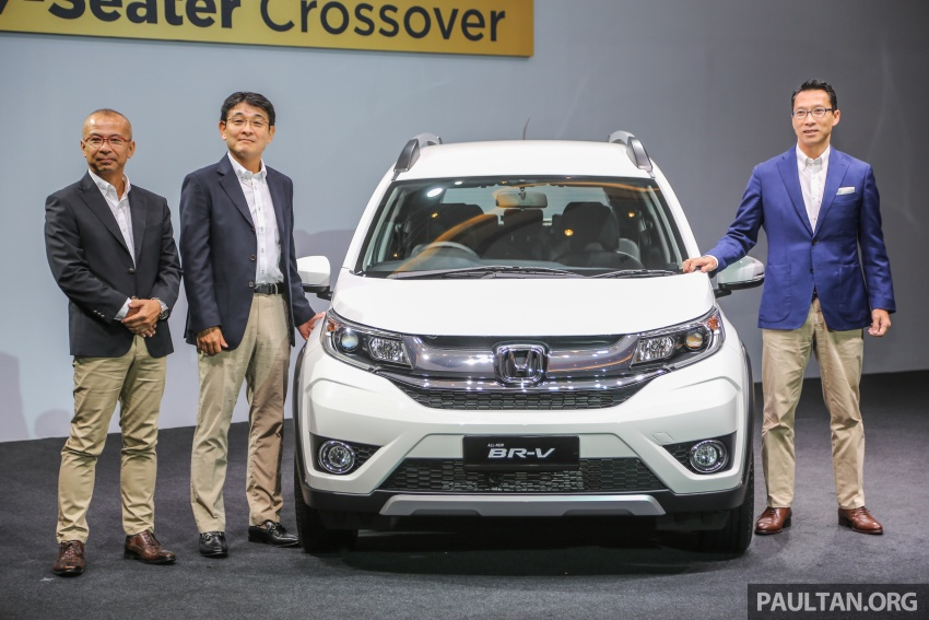 Honda BR-V 1.5L launched in Malaysia, from RM85,800 Image #598776
