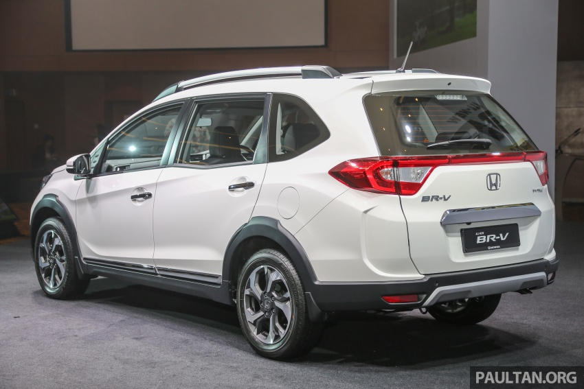 Honda BR-V 1.5L launched in Malaysia, from RM85,800 Image #598555