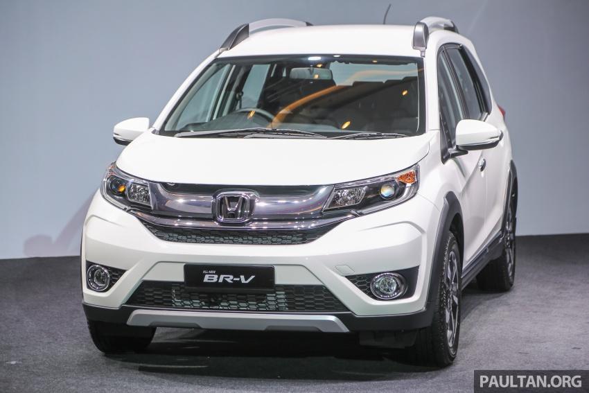 Honda BR-V 1.5L dilancarkan di Malaysia – crossover 7-tempat duduk, 2 varian, harga bermula RM85,800 Image #598570