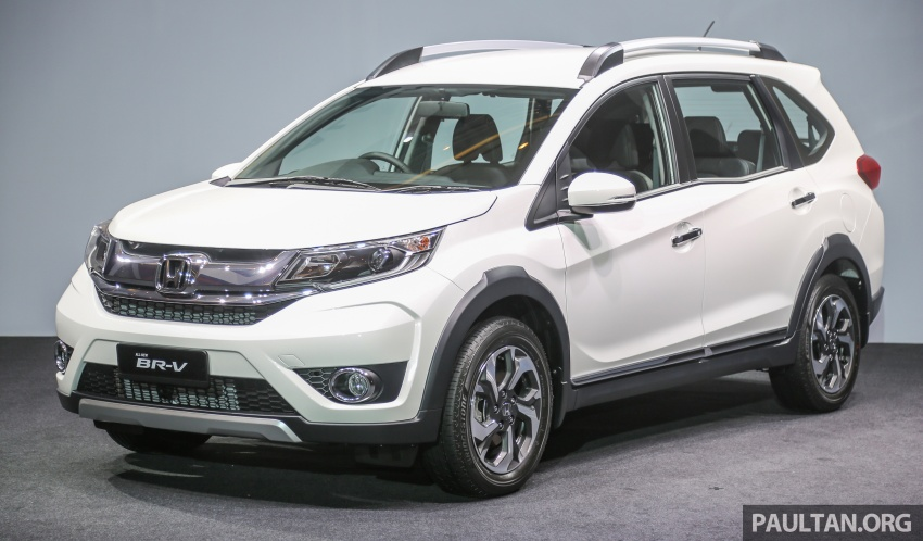 Honda BR-V 1.5L launched in Malaysia, from RM85,800 Image #598778