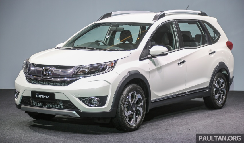 Honda BR-V 1.5L launched in Malaysia, from RM85,800 Image #598625