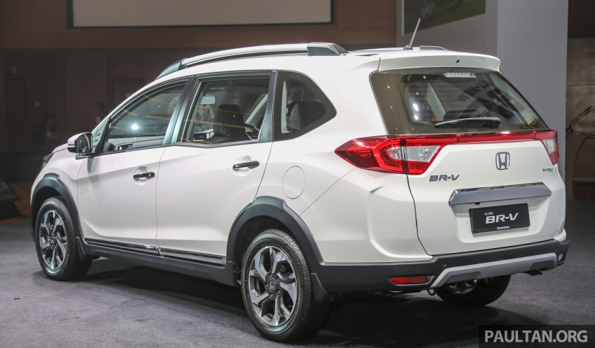 Honda BR-V 1.5L launched in Malaysia, from RM85,800 Image #598626