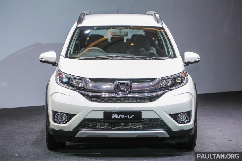 Honda BR-V 1.5L dilancarkan di Malaysia – crossover 7-tempat duduk, 2 varian, harga bermula RM85,800 Image #598700
