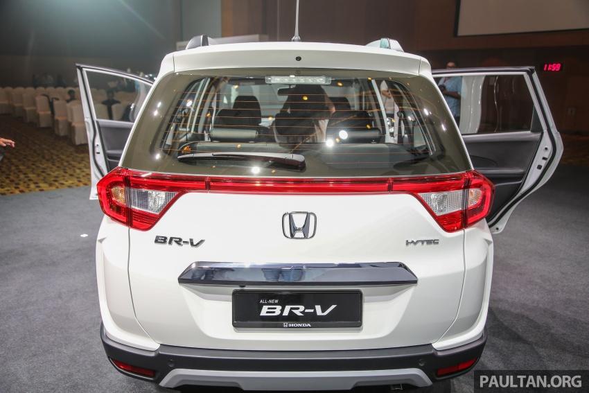 Honda BR-V 1.5L dilancarkan di Malaysia – crossover 7-tempat duduk, 2 varian, harga bermula RM85,800 Image #598702