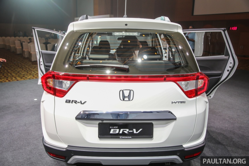 Honda BR-V 1.5L launched in Malaysia, from RM85,800 Image #598629