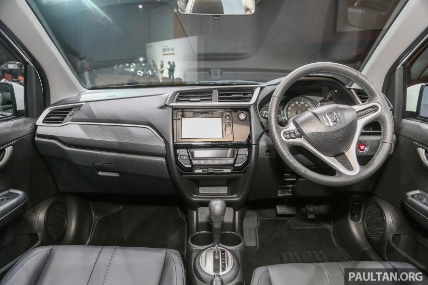 Honda BR-V 1.5L dilancarkan di Malaysia – crossover 7-tempat duduk, 2 varian, harga bermula RM85,800 Image #598720