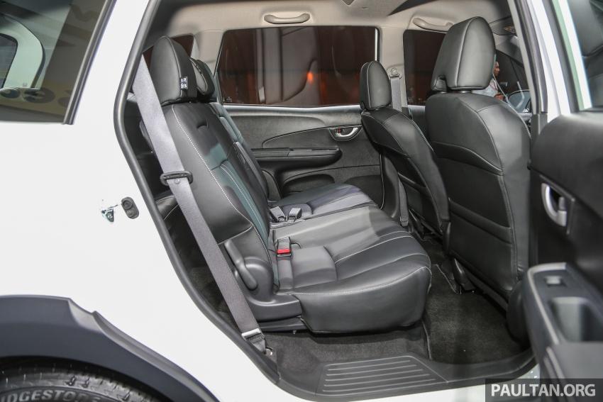 Honda BR-V 1.5L dilancarkan di Malaysia – crossover 7-tempat duduk, 2 varian, harga bermula RM85,800 Image #598690