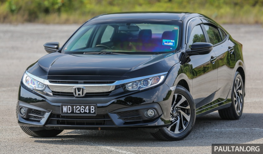 GALLERY: Honda Civic 1.8S – it's quietly competent Image #602488