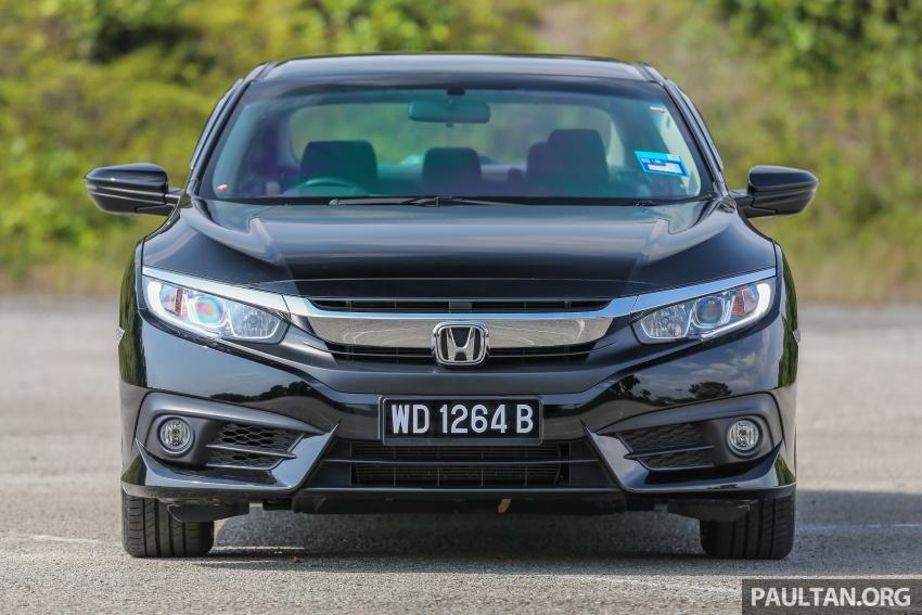 GALLERY: Honda Civic 1.8S – it's quietly competent Image #602421