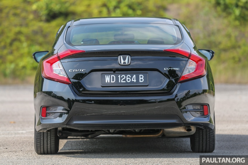 GALLERY: Honda Civic 1.8S – it's quietly competent Image #602423