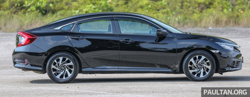 GALLERY: Honda Civic 1.8S – it's quietly competent Image #602424