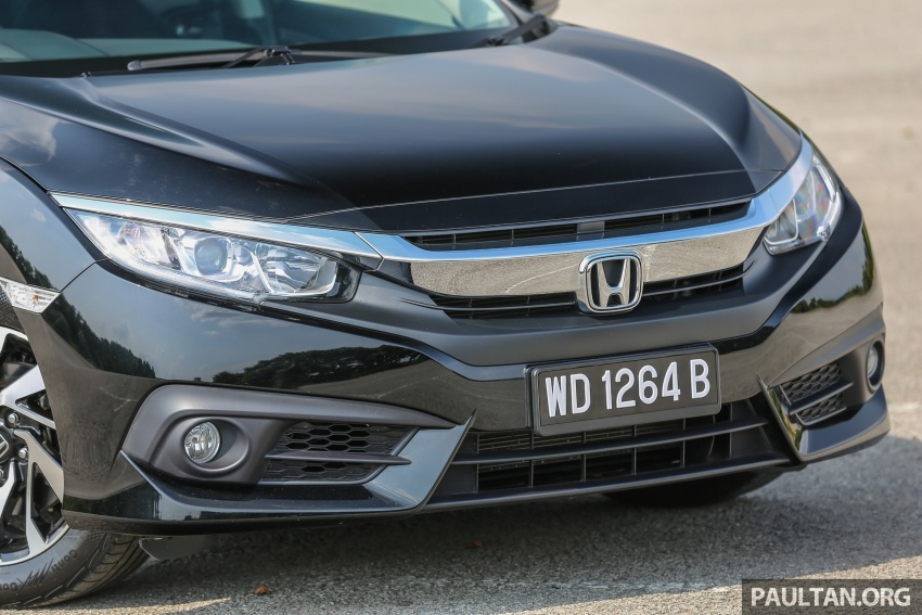 GALLERY: Honda Civic 1.8S – it's quietly competent Image #602426