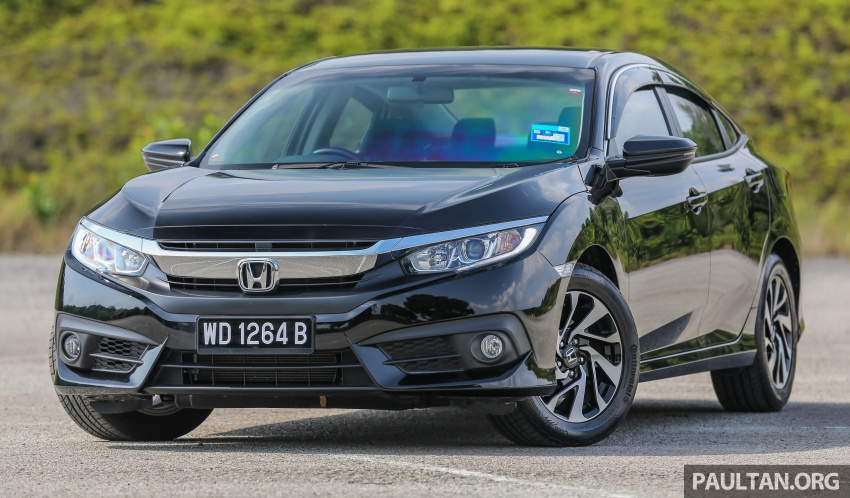 GALLERY: Honda Civic 1.8S – it's quietly competent Image #602489