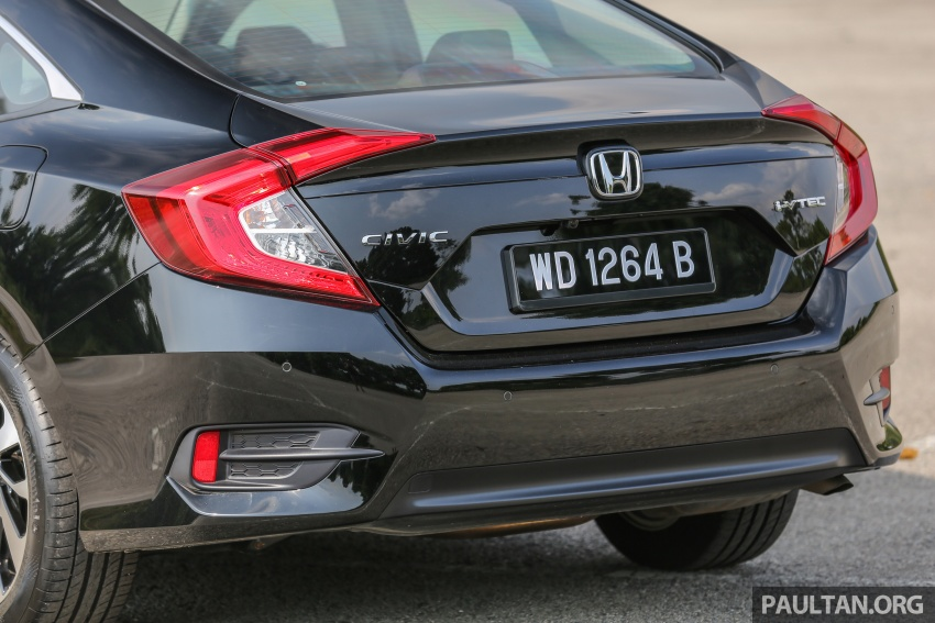 GALLERY: Honda Civic 1.8S – it's quietly competent Image #602439