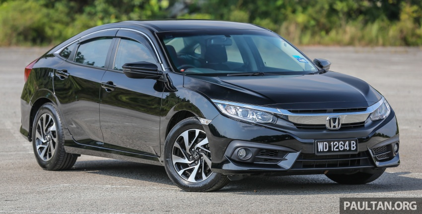 GALLERY: Honda Civic 1.8S – it's quietly competent Image #602490