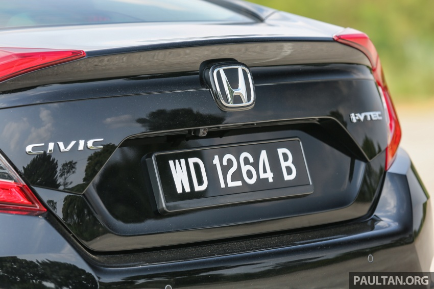 GALLERY: Honda Civic 1.8S – it's quietly competent Image #602442