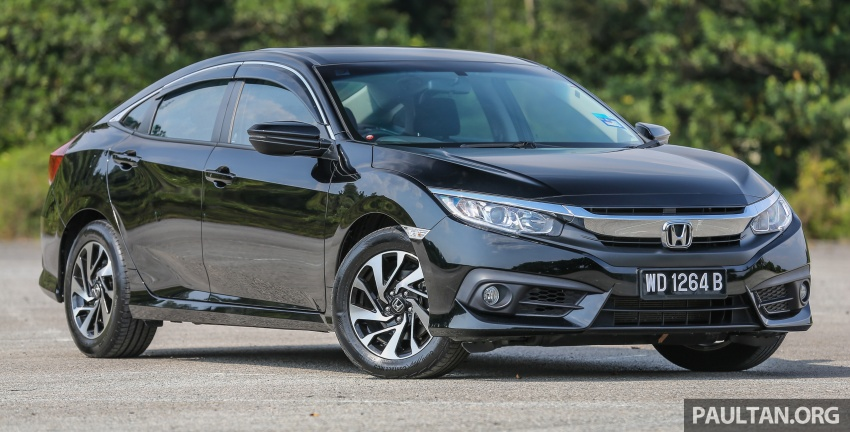 GALLERY: Honda Civic 1.8S – it's quietly competent Image #602491