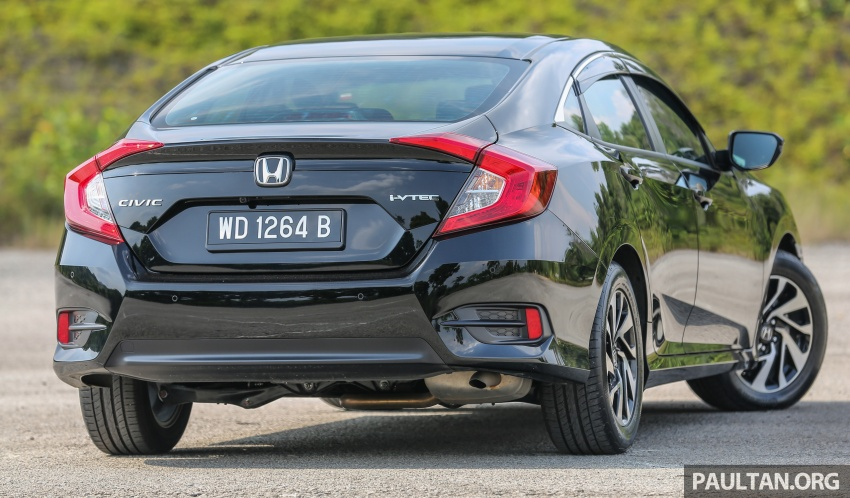 GALLERY: Honda Civic 1.8S – it's quietly competent Image #602417