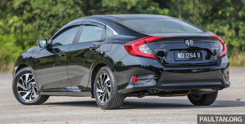 GALLERY: Honda Civic 1.8S – it's quietly competent Image #602419