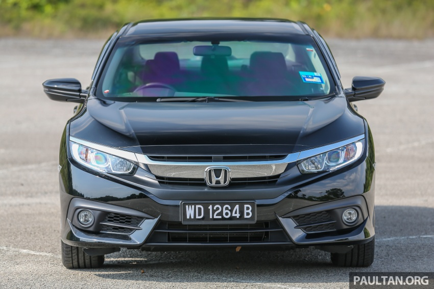 GALLERY: Honda Civic 1.8S – it's quietly competent Image #602420
