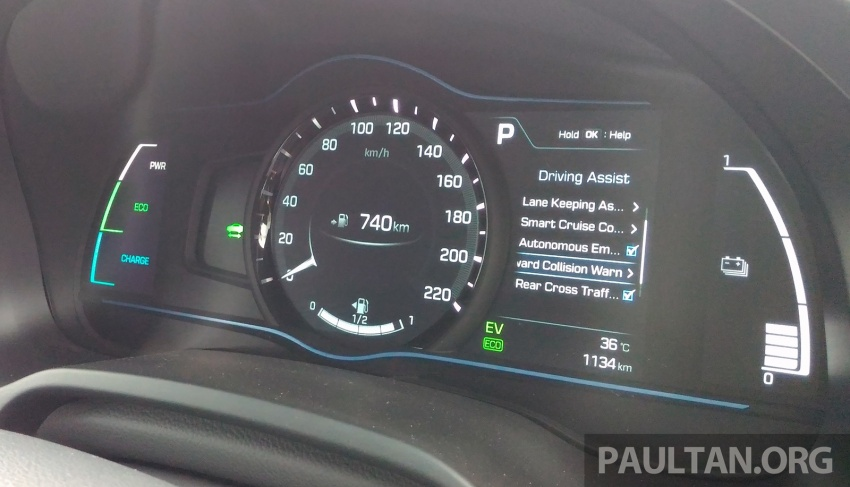 DRIVEN: Hyundai Ioniq Hybrid, thinking out of the box Image #597424