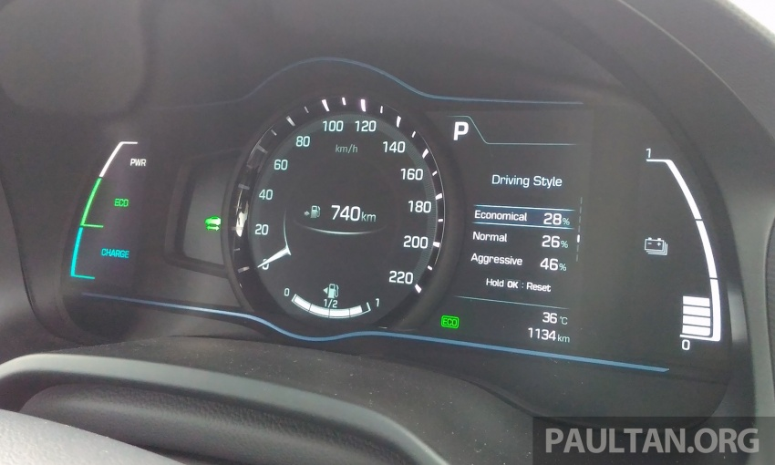 DRIVEN: Hyundai Ioniq Hybrid, thinking out of the box Image #597426