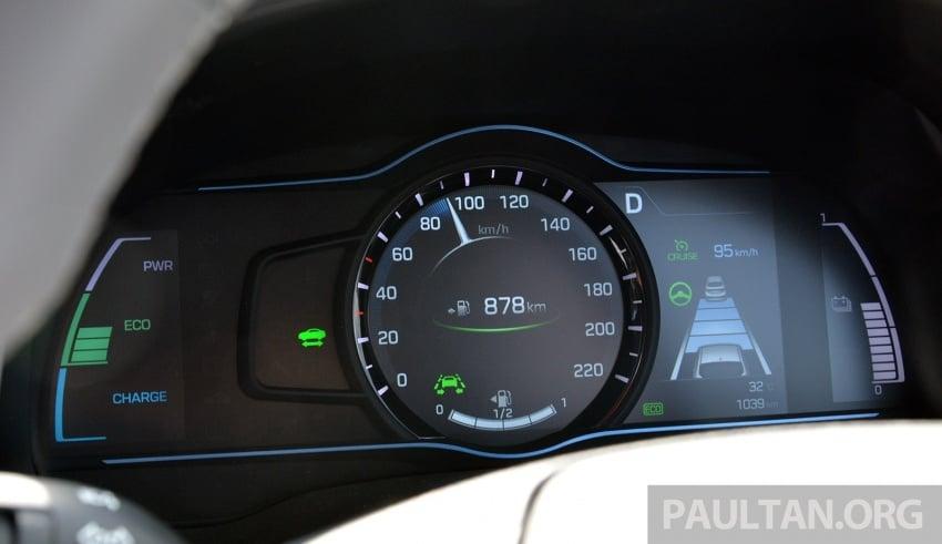 DRIVEN: Hyundai Ioniq Hybrid, thinking out of the box Image #597427