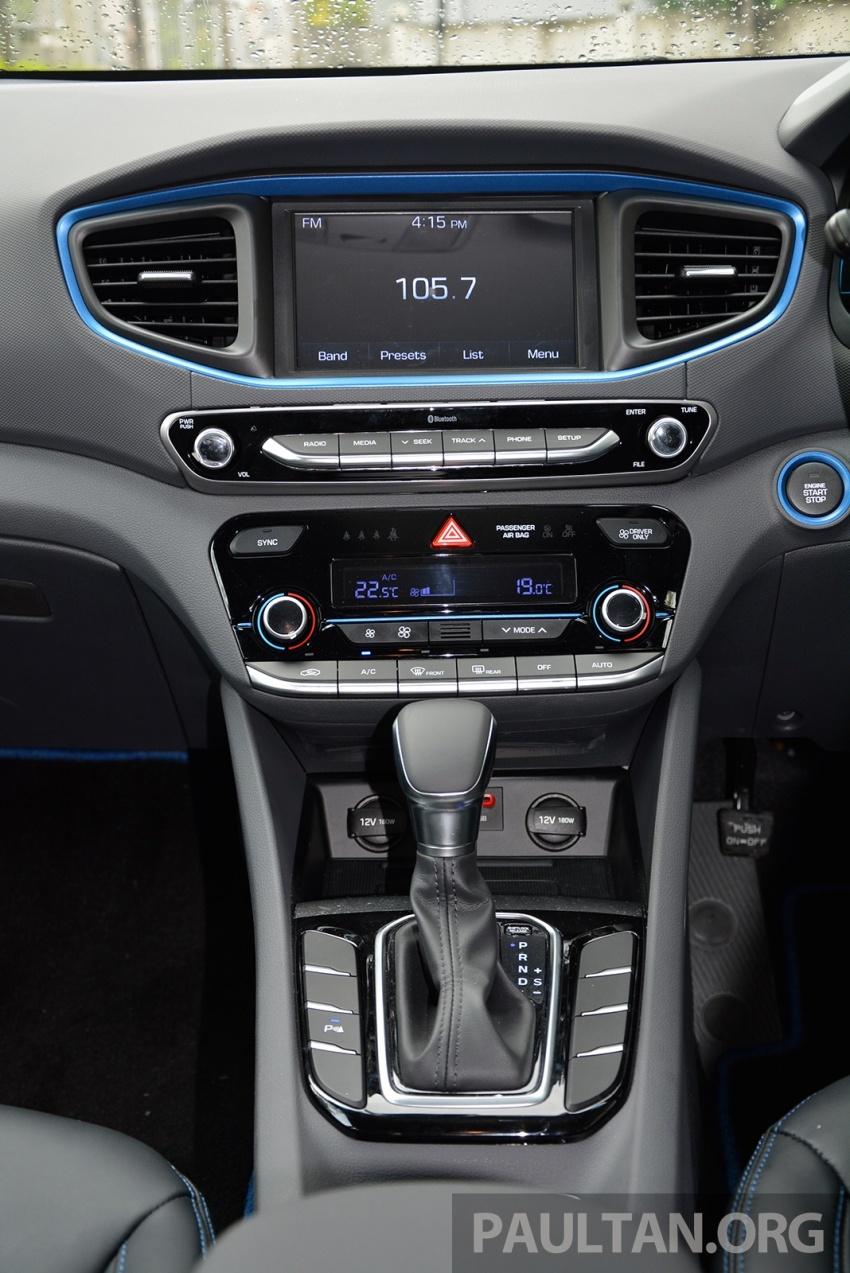 DRIVEN: Hyundai Ioniq Hybrid, thinking out of the box Image #597448