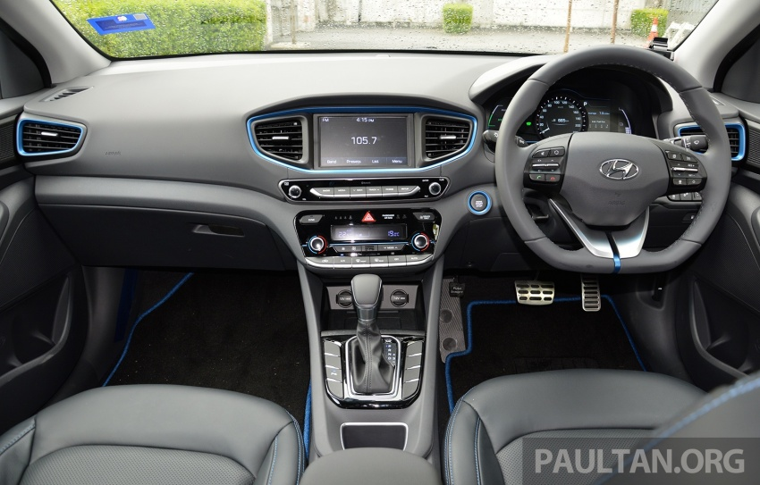 DRIVEN: Hyundai Ioniq Hybrid, thinking out of the box Image #597449