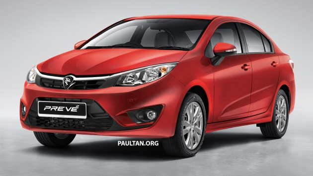 Next Gen Proton Preve Rendered Based On Persona