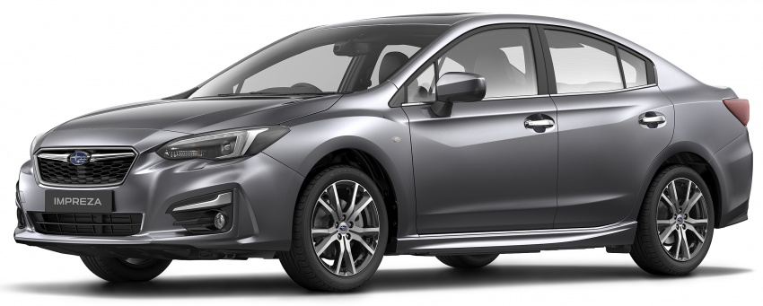 2017 Subaru Impreza launched in Singapore – sedan and hatchback; NA 1.6L and 2.0L CVT with AWD Image #602178
