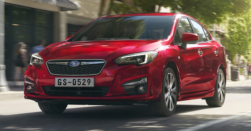 2017 Subaru Impreza launched in Singapore – sedan and hatchback; NA 1.6L and 2.0L CVT with AWD Image #602179