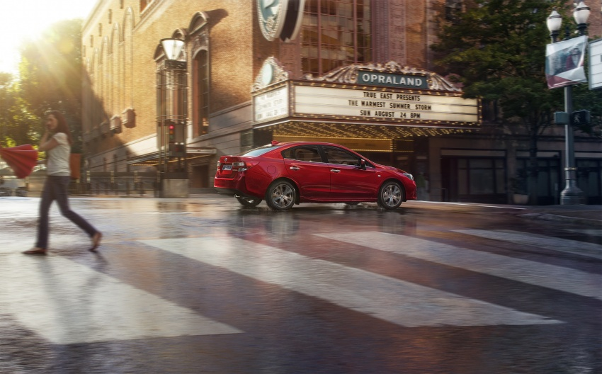 2017 Subaru Impreza launched in Singapore – sedan and hatchback; NA 1.6L and 2.0L CVT with AWD Image #602180
