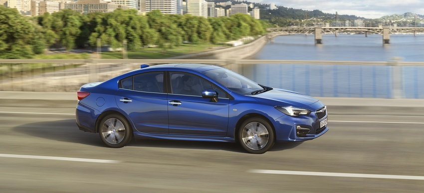 2017 Subaru Impreza launched in Singapore – sedan and hatchback; NA 1.6L and 2.0L CVT with AWD Image #602181