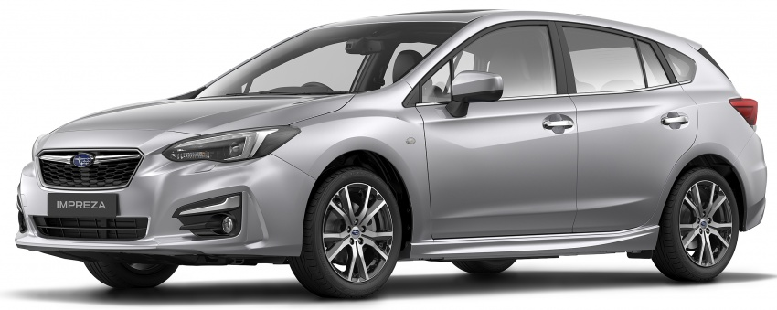 2017 Subaru Impreza launched in Singapore – sedan and hatchback; NA 1.6L and 2.0L CVT with AWD Image #602183