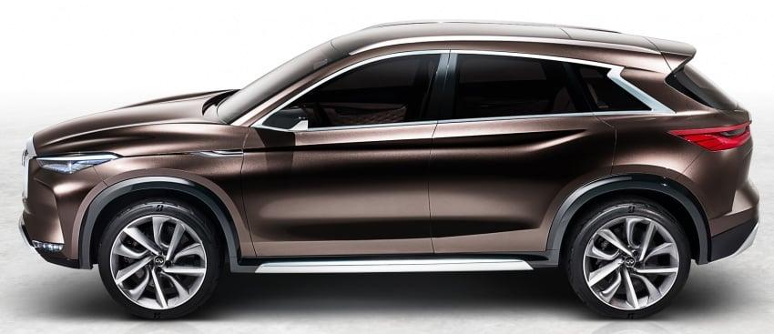 Infiniti QX50 Concept set to debut at Detroit show Image #597459