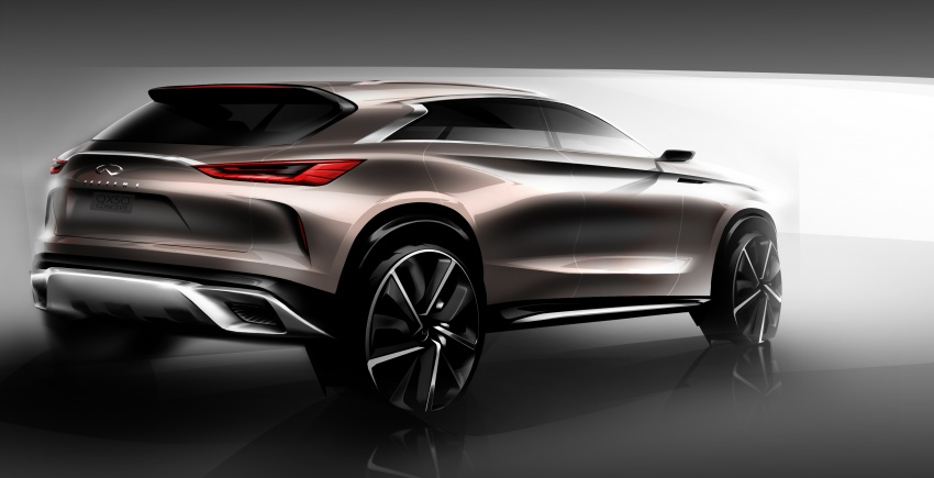 Infiniti QX50 Concept set to debut at Detroit show Image #597462