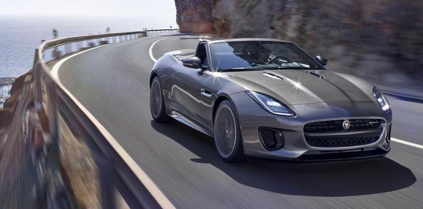 2018 Jaguar F-Type range – 400 Sport special edition Image #601805