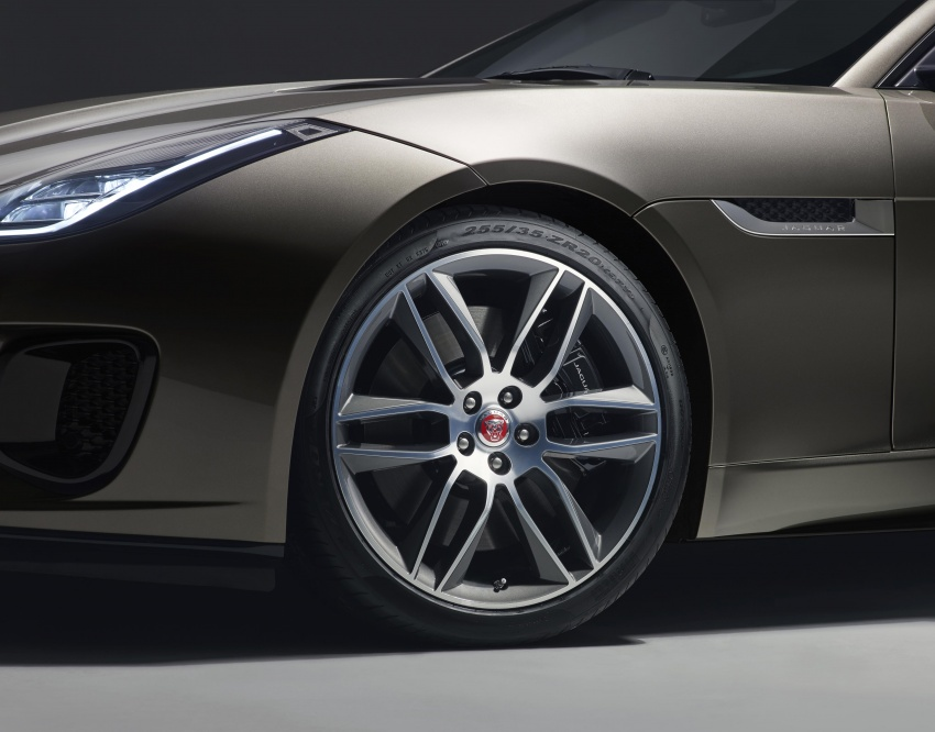 2018 Jaguar F-Type range – 400 Sport special edition Image #601810