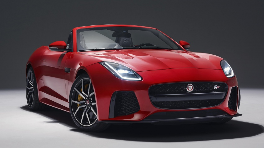2018 Jaguar F-Type range – 400 Sport special edition Image #601814