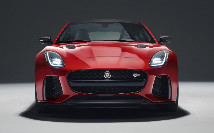 2018 Jaguar F-Type range – 400 Sport special edition Image #601828
